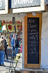Add Flavor (MTSOfan) Tags: epz carousel vending lemonade flavors addflavor list chalkboard sign blessed drinks refreshments strawberry mango peach raspberry
