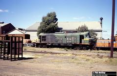 2875 XB1027 Midl;and Workshops 14 March 1982 (RailWA) Tags: railwa philmelling westrail 1982 xb1027 midland workshops 14 march