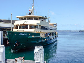 Sydney Ferries - Manly Ferry MV Collaroy on a still day in Manly (1)