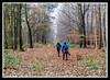 Sisters (veggiesosage) Tags: derbyshire southderbyshire walk reptoncirclewalk fujifilm fujifilmx20 x20 heathwood