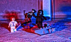 Under Observation (Lego Star Wars Advent Calendar, Day 6) (BrickSev) Tags: lego star wars advent calendar starwars adventcalendar parody kylo ren minifigure minifigures legophotography toy toyphotography
