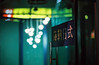 ... (june1777) Tags: snap street seoul chungmuro night light dof bokeh kyocera contax n1 carl zeiss n planar nplanar 85mm f14 fuji superia xtra 400