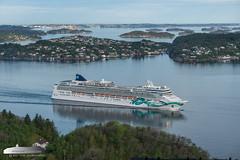 Norwegian Jade (Aviation & Maritime) Tags: norwegianjade ncl norwegiancruiseline cruiseship cruise bergen norway