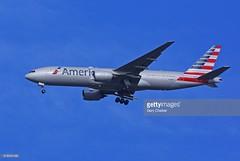American Airlines Boeing 777-223 (Gary Chalker, Thanks for over 3,000,000. views) Tags: americanairlines boeing777 boeing 777 pentax pentaxk3ii k3ii sigma500mmf45exdg 500mm sigma airliner