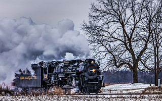 Steaming Along