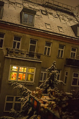 View from my Window (Michael Goldrei (microsketch)) Tags: photo nov österreich street european snow snowing canon weather white cold winter photos november 2017 photographer mark st vienna 5d 3 photography 17 iii europe austria wien tree roof houses snowplough balcony trees rooftop