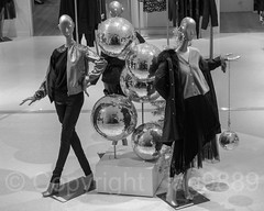 2017 Holiday Display inside Saks Fifth Avenue, New York City (jag9889) Tags: 2017 20171130 bw blackandwhite christmas departmentstore display fashion flagship globe holiday indoor manhattan mannequin midtown monochrome ny nyc newyork newyorkcity rockefellercenter saks saksfifthavenue usa unitedstates unitedstatesofamerica jag9889
