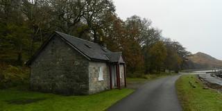 Pier Cottage, Kingairloch, Lochaber, Nov 2017