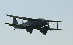 Air Atlantique G-AGTM DH Rapide Coventry(3) (cvtperson) Tags: gagtm dh rapide coventry cvt egbe
