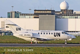 HAWKER 800XP ZS-BAL\UNO 332 UNITED NATIONS