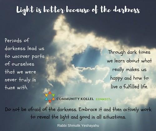 light better darkness