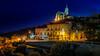 night.lights (K.H.Reichert [ not explored ]) Tags: lighttrails nightshot gozo church night nachtfoto kirche kiosk blauestunde