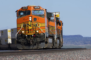 BNSF Climbing to the Top