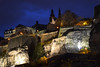 FORT - Luxembourg (-MDCe) Tags: grund luxembourg ville city border frontière automne fall colors nightphotography night nikon europe castle fort river alzette saturday blue rampart rempart oldtown basse villebasse trip roadtrip trees cave stone oldbuilding oldcastle history season
