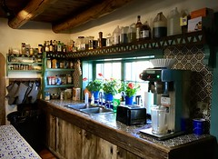 Mabel's kitchen (kimbar/Thanks for 3.5 million views!) Tags: mabeldodgeluhan taos newmexico kitchen