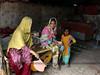 PAKHI VAAS: Sansi Nomads Of Pakistan (Amna Yaseen) Tags: family siblings cradle cottage handfan lahore pakistan 2015 socialdocumentary femalephotographer