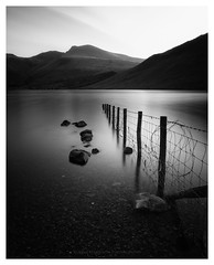 formation. (akh1981) Tags: mono landscape lakedistrict lake longexposure water wastwater outdoors manfrotto mountains rocks wideangle walking sunrise o