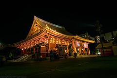 D850 - Senso-ji Temple (gemapozo) Tags: temple asakusa d850 night nikon sensouji japan tokyo 浅草寺 夜景 afsnikkor1424mmf28ged