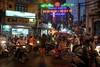 Old Quarter rush hour (grapfapan) Tags: people scooter traffic streetlife oldquarter hanoi vietnam travel