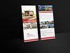 DL  Rack Card Mockup (monnamozammel) Tags: 4x9 brochure business clean corporate design editable elegant flyer indesign layered minimalistic modern multipurpose print rackcard template
