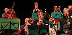 Jazz Station Big Band, Centre culturel d'Ans-Alleur, vendredi 03/11/2017. (claude lina) Tags: claudelina canon belgium belgique ansalleur centrecultureldalleur jazz musique instruments bigband jazzstationbigband
