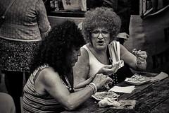 curls 'n crepes (Dirty Thumper) Tags: sony alpha nex nex5n minolta rokkor md sr 3570mm mirrorless manual mf zoom legacy travel street woman women candid people food camden camdenlock london brexit sonyphotographing