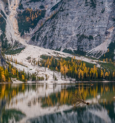 Naturgewalten (matthias_oberlausitz) Tags: pragser wildsee dolomiten prags mure alpen italien alto adige südtirol