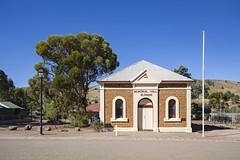 Memorial Hall (oz_lightning) Tags: australia blinman canon6d canonef1635mmf4lis cflindersranges sa architecture building landscape townscape southaustralia aus