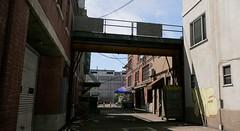 Between buildings (Brandon ProjectZ) Tags: watchdogs2 sanfrancisco city sunny sky shadows buildings natural lighting