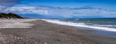Ship Creek - New Zealand (Bobinstow2010) Tags: newzealand shingle clouds southisland nearjacksonsbay waves