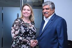 Karen Bradley in Bengaluru, 8 November 2017 (UK in India) Tags: uk digital culture media sport karenbradley britishdeputyhighcommissionerbengaluru dominicmcallister bengaluru wednesday 8november2017