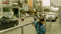 Street Scenes 1.0 | Nikon FE2 | Nikkor 50mm (f1.8) (IG @ Meandergraph) Tags: thailand krabi bangkok chiangmai phuket kohsamui travel asia southeastasia streetphotography film analog 35mm filmphotography nikon nikonfe2 nikkor50mm 50mm