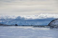 Lago Bianco: cut off (2/2) (jaeschol) Tags: berninapass europa graubuenden grischuna kantongraubünden kontinent schweiz suisse switzerland lagobianco winter eis ice wetter weather