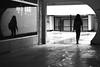 Of right and left (pascalcolin1) Tags: paris13 femme woman reflets reflection vitre window pluie rain droite right gauche left ombre shadows lumière light photoderue streetview urbanarte noiretblanc blackandwhite photopascalcolin canon50mm 5omm canon