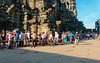 Long queue to climb the central tower at Angkor Wat R1009366 (Recliner) Tags: khmer cambodia kampuchea