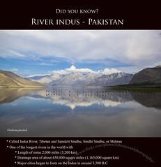 River Indus, Pakistan (LubnaJavaid) Tags: indus river mighty water nature blue pakistan skardu facts know information travel gilgit baltistan gilgitbaltistan reflection