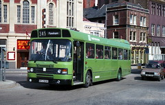 Southdown 124 870905 Portsmouth [jg] (maljoe) Tags: southdown nationalbuscompany nbc leylandnational leyland