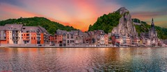 Dinant (BE) - 4207 (YᗩSᗰIᘉᗴ HᗴᘉS +12 000 000 thx❀) Tags: dinant belgium be bel fr eu europa europe architecture hensyasmine yasminehens water meuse color citadelle city cityscape waterscape town ngc