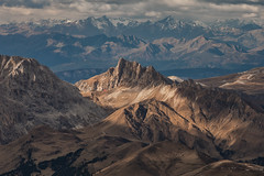 Standing on the Shoulders of Giants (Andrew G Robertson) Tags: dolomiti dolomites sass pordoi alps italy puez odle sella view epic denti terra rossa roterd