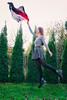 won't let go. (viktoria.czire) Tags: self portrait selfportrait levitation scarf autumn girl flying dreamy nikon nikond5300 artistic abstract fall