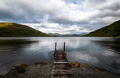 Somewhere in Connemara II (Ray Moloney Photography) Tags: ifttt 500px lake mountains blue clouds rocks brown calm pier green wood stone waterscape ireland landing eire jetty still water lakeside galway boardwalk rushes wooden bridge county connemara raymoloneyphoto
