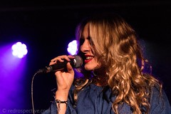 Katy Hurt-1895 (redrospective) Tags: 20171006 london sonialeigh theborderline artists blond blondhair blonde blondehair color colour concert gig hair human lipstick live microphone music musician musicians people performer performers person red singer singing woman