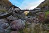 Rassa - Valsesia (Vercelli) (Pasquale D'Anna) Tags: rassa valsesia paesaggio panorama natura paese ponte case fiume rocce acqua