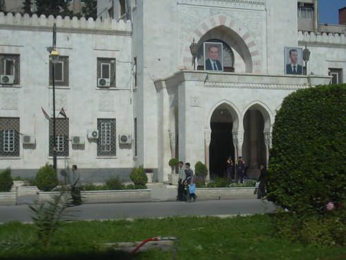 Homs, Vor dem Hotel Safir
