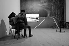 DSC02367 (valentinalazza) Tags: vivaarteviva venezia venice italia italy labiennale biennaledivenezia biennale bn bw art contemporary watching exhibition international