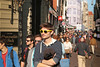 Leidsestraat - Amsterdam (Netherlands) (Meteorry) Tags: europe nederland netherlands holland paysbas noordholland amsterdam amsterdampeople candid streetscene centrum centre center leidsestraat keizersgracht abercrombiefitch man guy homme male boy yellow jaune sunglasses crowd afternoon aprèsmidi sunshine dof depthoffield dutch tourist september 2017 meteorry