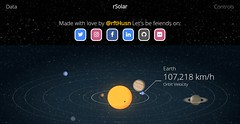 Welcome to rSolar - A 3D web solar system - It was Designed and Made with love by @rfthusn - Website: www.rfthusn.com/solar (rftHusn) Tags: html css javascript php webdesign webdevelopment design programming website graphicdesign hero worldpaper
