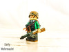 Early World War 2 Custom German Uniform. (-=Spectre=-) Tags: kll german light green sand early war wehrmacht lego custom paint job