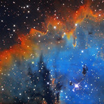 NGC 281 (Pac-Man Nebula) narrowband thumbnail