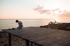 Bondage by sea 🌊 (Frater O) Tags: sunset girl kinbaku sm shibari bondage breath manako photo ropes
